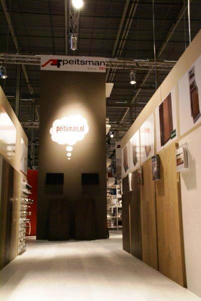 Peitsman - Stand ontwerp